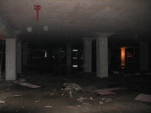 地下车库基础图纸